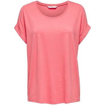textil Mujer Tops / Blusas Only TOP  MOSTER 15106662 Rosa