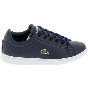 Zapatos Hombre Zapatillas bajas Lacoste Carnaby C Marine Blanc Azul