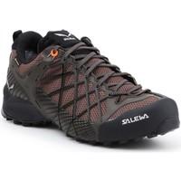 Zapatos Hombre Senderismo Salewa MS Wildfire GTX 63487-7623 marrón, negro