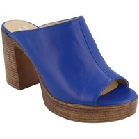 Zapatos Mujer Zuecos (Mules) Gadea 40047 CAMPANUL Azul