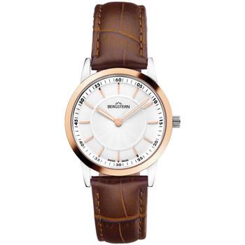 Relojes & Joyas Mujer Relojes analógicos Bergstern B006L030, Quartz, 30mm, 3ATM Plata