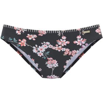 textil Mujer Bañador por piezas Lascana Pantalones de traje baño Ditsy Pearl Black