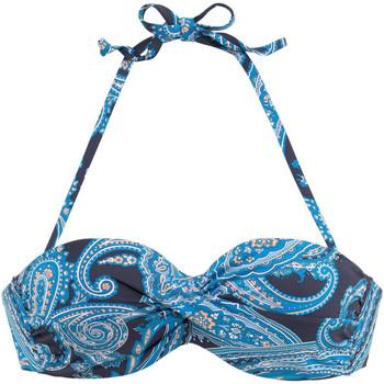 textil Mujer Bañador por piezas Lascana Traje de baño Boho  Bandeau Top con Armadura Marfil