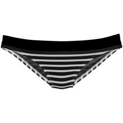 textil Mujer Bañador por piezas Lascana Pantalones de traje baño Summer Pearl Black-blanco
