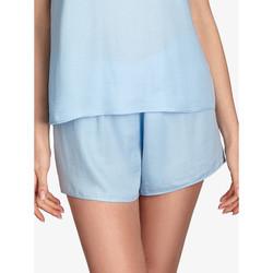 textil Mujer Pijama Ajour Forget-Me-Not short pyjama bottoms sky blue Azul Ciel
