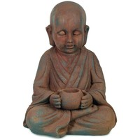 Casa Figuras decorativas Signes Grimalt Buda Con Pocillo Marrón