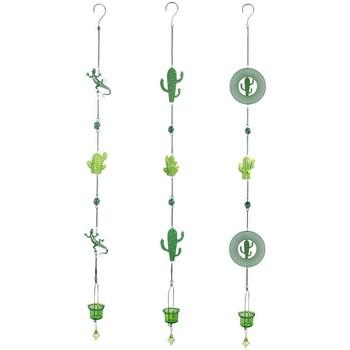Casa Decoraciones festivas Signes Grimalt Colgante Cactus T-Lite 3U Verde