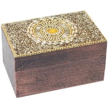 Casa Baúles, cajas de almacenamiento Signes Grimalt Cajita Rectangular Dorado