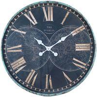 Casa Relojes Signes Grimalt Reloj Pared Azul
