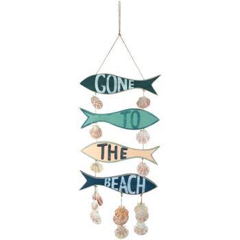 Casa Decoraciones festivas Signes Grimalt Colgante Gone To The Beach Multicolor