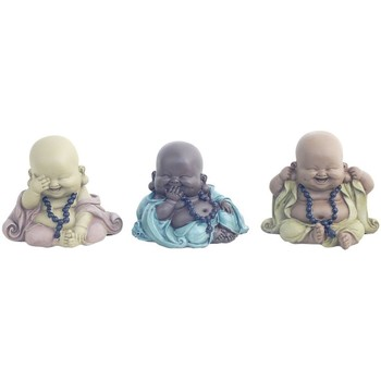 Casa Figuras decorativas Signes Grimalt Buda 3 Diferentes Set 3U Multicolor