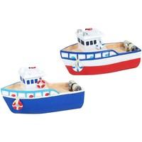 Casa Figuras decorativas Signes Grimalt Barcos De Resina Set 2 U Multicolor