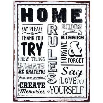 Casa Cuadros, pinturas Signes Grimalt Placa Pared Home Multicolor
