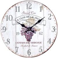 Casa Relojes Signes Grimalt Reloj Pared Vino Blanco