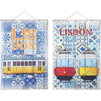 Casa Cuadros, pinturas Signes Grimalt Adorno Pared Lisbon 2 Dif. Multicolor