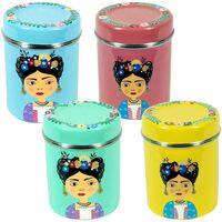 Casa Cestas, cajas y cubos de basura Signes Grimalt Caja Té Set 4 Unidades Multicolor
