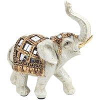Casa Figuras decorativas Signes Grimalt Elefante Pequeño Blanco