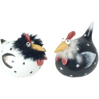 Casa Figuras decorativas Signes Grimalt Pájaro Pico Largo Pelo 2U Multicolor
