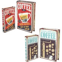 Casa Baúles, cajas de almacenamiento Signes Grimalt Caja Libro Set 4U Multicolor