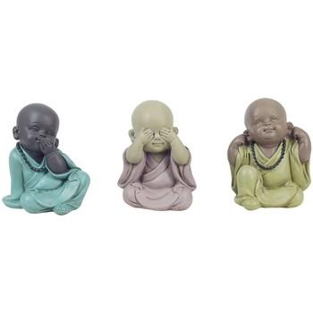 Casa Figuras decorativas Signes Grimalt Buda No Ve, Oye, Habla 3U Multicolor