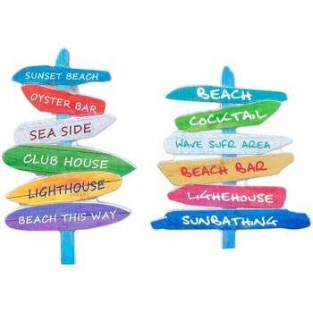 Casa Cuadros, pinturas Signes Grimalt Magnéticos 2 Diferentes Multicolor