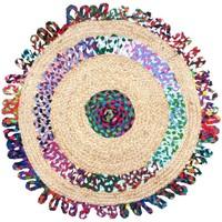Casa Alfombras Signes Grimalt Alfombra Yute Colores Multicolor