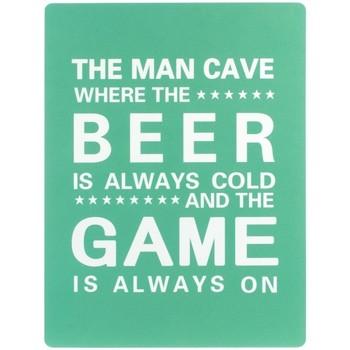Casa Cuadros, pinturas Signes Grimalt Placa Pared Beer Game Verde