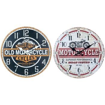 Casa Relojes Signes Grimalt Reloj Pared Motos Set 2U Multicolor