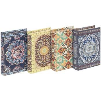 Casa Baúles, cajas de almacenamiento Signes Grimalt Cajas Libro Mandala Set 4U Multicolor