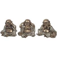 Casa Figuras decorativas Signes Grimalt Budas Pequeños Dorados 3U Dorado