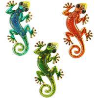 Casa Apliques de exterior Signes Grimalt Lagartos Set 3 Unidades Multicolor