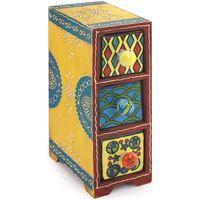 Casa Baúles, cajas de almacenamiento Signes Grimalt Especiero 3 Cajones Multicolor