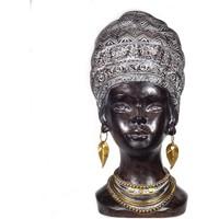 Casa Figuras decorativas Signes Grimalt Figura Cabeza Africana Negro