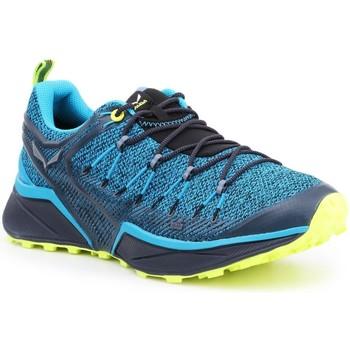 Zapatos Hombre Senderismo Salewa MS Dropline 61368-8376 azul
