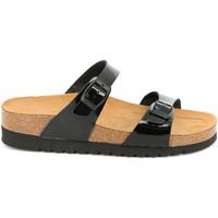 Zapatos Mujer Zuecos (Mules) Grunland CB2433 Negro