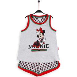 textil Niña Pijama Disney MINNIE COOL GRIS JASPE