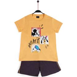 textil Niño Pijama Disney BACK AT IT OCRE