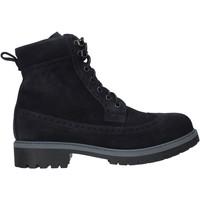 Zapatos Hombre Botas de caña baja NeroGiardini I001861U Azul