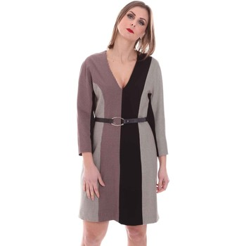 textil Mujer Vestidos cortos Nenette 26BB-ARAS Gris