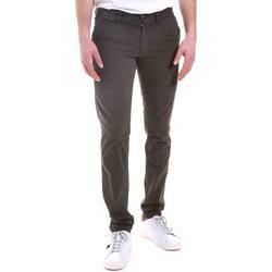 textil Hombre Pantalones chinos Gaudi 021GU25014 Verde