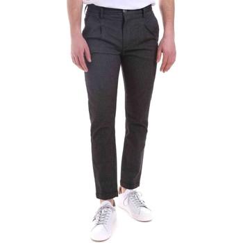 textil Hombre Pantalones Gaudi 021GU25022 Negro