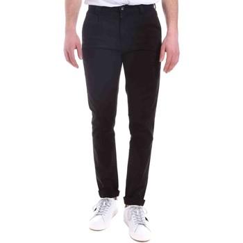 textil Hombre Pantalones chinos Gaudi 021GU25014 Negro