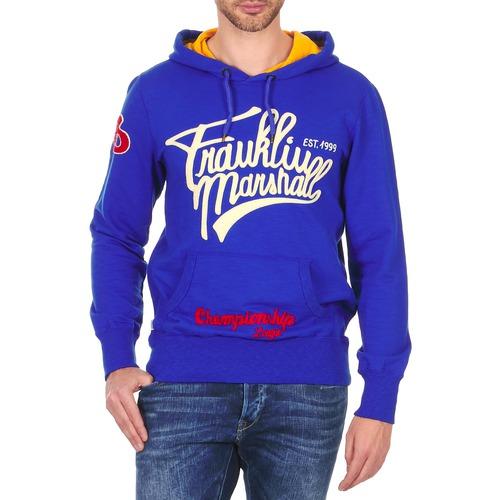 textil Hombre sudaderas Franklin & Marshall SUNBURY Azul