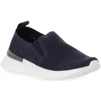 Zapatos Mujer Slip on Grunland BLU F6 VITY Blu