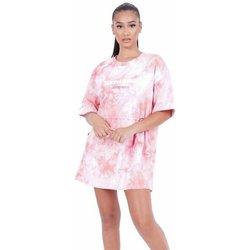textil Mujer Vestidos cortos Sixth June Robe femme  Tie and dye rose