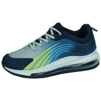 Zapatos Hombre Zapatillas bajas Demax Tenis camara de aire ROYAL