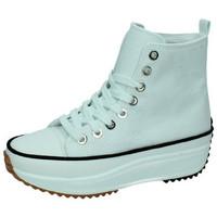 Zapatos Mujer Zapatillas altas Demax Zapatillas caÑa alta BLANCO
