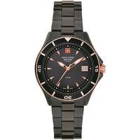 Relojes & Joyas Mujer Relojes analógicos Swiss Alpine Military 7740.1187, Quartz, 36mm, 10ATM Negro