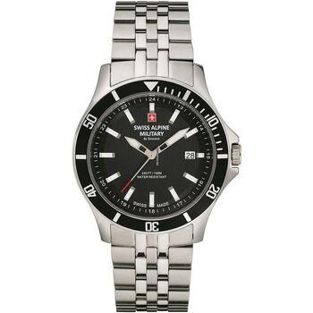 Relojes & Joyas Hombre Relojes analógicos Swiss Alpine Military 7022.1137, Quartz, 42mm, 10ATM Plata