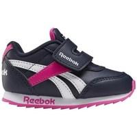 Zapatos Niños Zapatillas bajas Reebok Sport Royal CL Jogger Blanco, Negros, Rosa